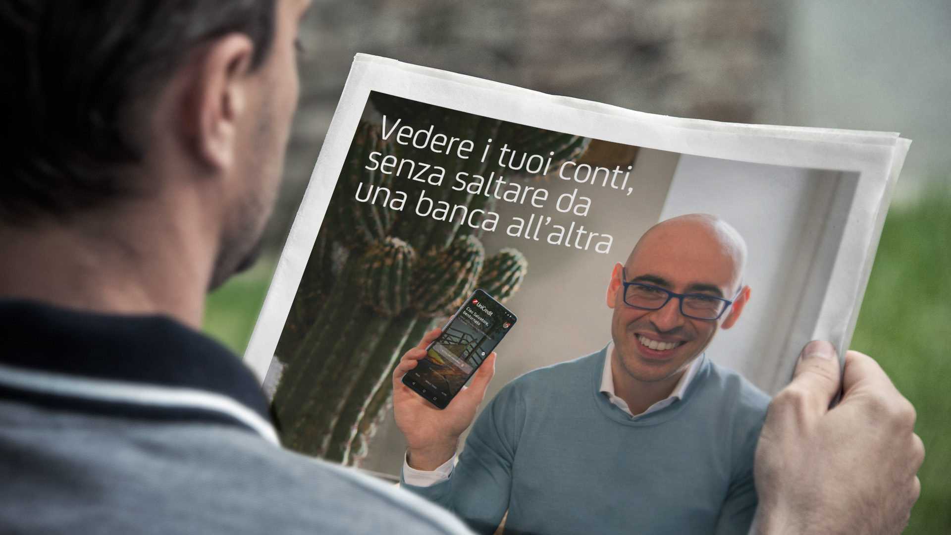 Unicredit Campagna Omnichannel con Aranzulla